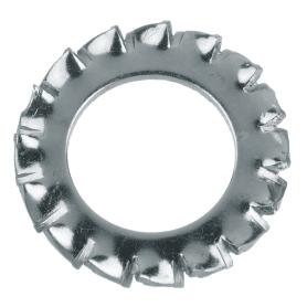 Шайба зубчатая DIN 6798 10 мм, 6 шт.
