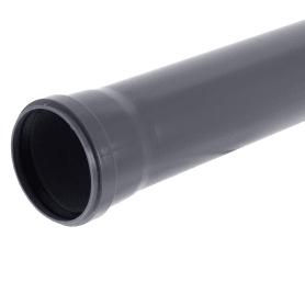Труба канализационная ГОСТ Ø 110x2.7 мм L 1м полипропилен