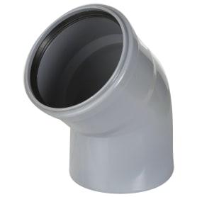 Отвод Ø 110х45°полипропилен