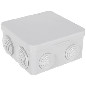 Коробка распределительная HP 90, 100х100х50 мм цвет серый