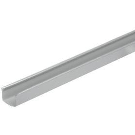 Профиль торцевой 6000 мм цвет металлик