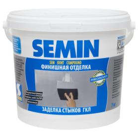 Шпаклёвка для заделки швов Semin Sem-Joint, 7 кг