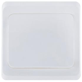 Переключатель Schneider Electric Этюд, 1 клавиша, цвет белый