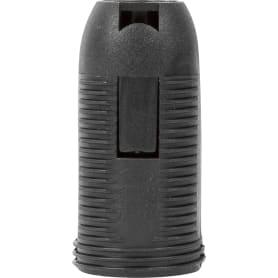 Патрон пластиковый Е14 цвет чёрный
