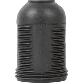 Патрон пластиковый Е27 цвет чёрный