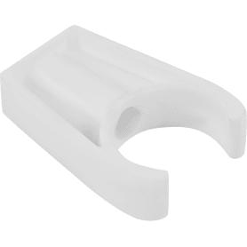 Крепеж для полипропиленовой трубы, длинный, 32 мм