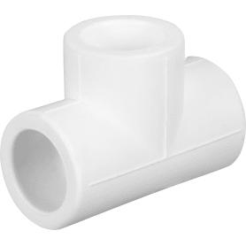Тройник ⌀20 x 20 x 20 мм полипропилен
