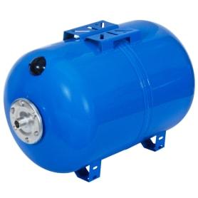 Гидроаккумулятор горизонтальный 80 л, фланец оцинкованная сталь