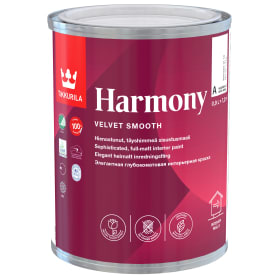 Краска интерьерная Tikkurila Harmony цвет белый 0.9 л
