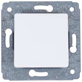 Выключатель Legrand Cariva, 1 клавиша, цвет белый