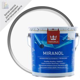 Эмаль Tikkurila Миранол цвет белый 2.7 л