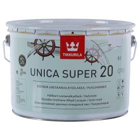 Лак полуматовый Tikkurila Unica Super ЕР 9 л