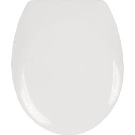 Сиденье для унитаза Dinoplast Pole, цвет белый