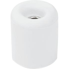 Стопор дверной LDS009WH, резина, цвет белый