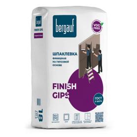 Шпаклёвка гипсовая финишная Bergauf Finish Gips 18 кг