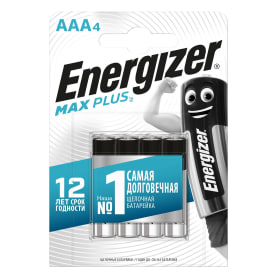 Батарейка алкалиновая Energizer Maximum AAA/LR03 4 шт.