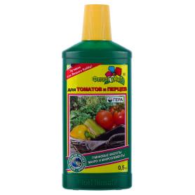 Удобрение ФлорГумат для томатов и перцев 0.5 кг