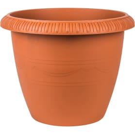 Горшок цветочный «Жардин» D35, 13л., пластик, Коричневый