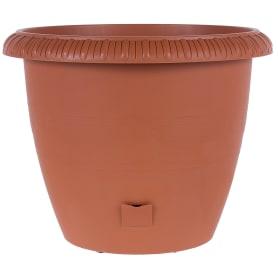 Горшок цветочный «Жардин» D40, 20, 5л., пластик, Коричневый