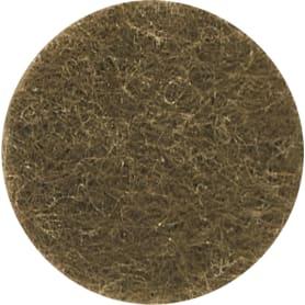 Набор фетровых набоек, круглые/квадратные, войлок, цвет коричневый, 83 шт.