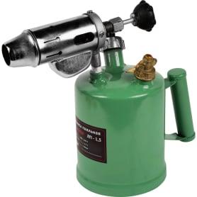 Лампа паяльная бензиновая Калибр ЛП-1.5, 1.5 л