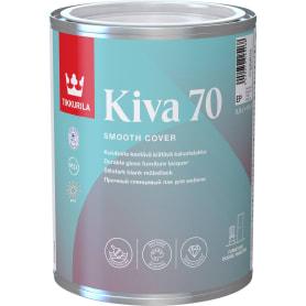 Лак для мебели акриловый глянцевый Tikkurila Kiva 70 0.9 л