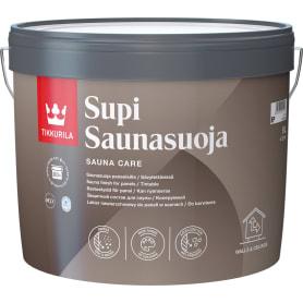 Защитный состав для сауны акриловый Tikkurila Supi Saunasuoja 9 л