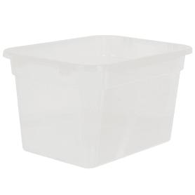Ящик многофункциональный 51х29.2x38 см, пластик цвет прозрачный без крышки