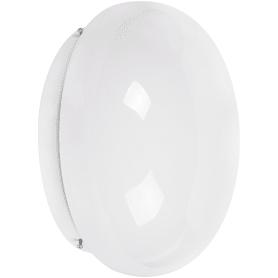 Светильник настенно-потолочный Полусфера 2xE27x60 Вт, IP20, металл/стекло, цвет белый