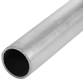 Труба 16x1х2000 мм, алюминий, цвет серебристо-белый