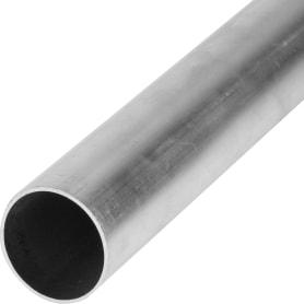 Труба 40x40x1000х40 мм, алюминий, цвет серебристо-белый
