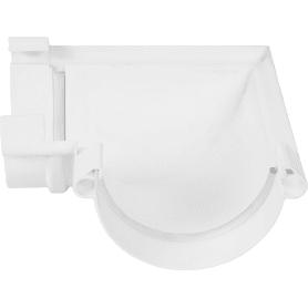 Угол желоба универсальный на 90° цвет белый