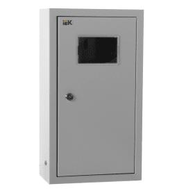 Щит металлический IEK ЩУРн-1/9зо-1 36 УХЛ3 на 9 модулей, IP31