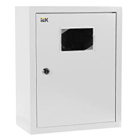 Щит металлический IEK ЩУРн-1/12зо-1 36 УХЛ3 на 12 модулей, IP31