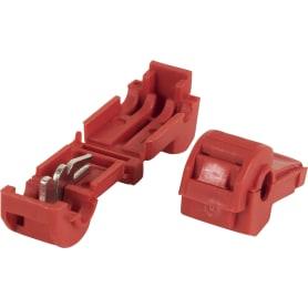 Зажим ответвитель ЗПО 0.5-1.5 мм2, ПВХ, цвет красный, 100 шт.