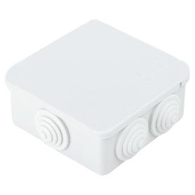 Коробка распределительная Экопласт100х100х55 мм цвет серый, IP55