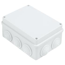 Коробка распределительная Экопласт 150х110х7 0мм цвет серый, IP55