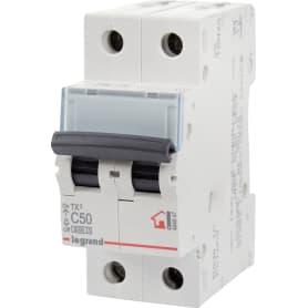 Выключатель автоматический Legrand 2 полюса 50 А