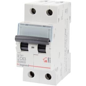 Выключатель автоматический Legrand 2 полюса 63 А