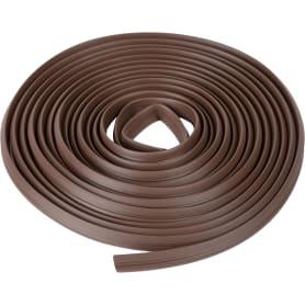 Уплотнитель универсальный 5.5 м, цвет коричневый