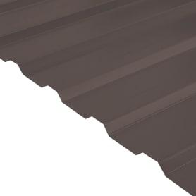 Профнастил С20 0.35 мм 1150х2000 мм коричневый RAL 8017