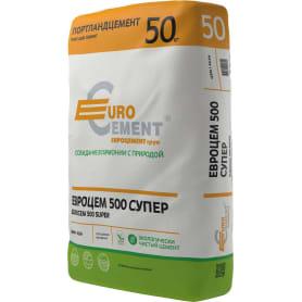 Цемент М500 ЦЕМ I 42.5 Б Евроцемент 50 кг