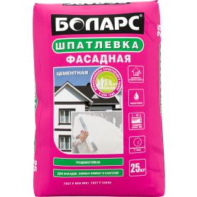 Шпаклёвка цементная базовая Боларс 25 кг