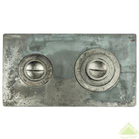 Плита печная двухкомфорочная 710х410 мм