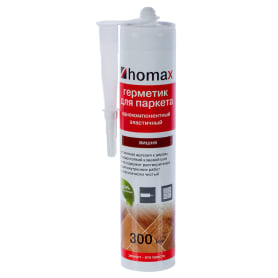 Герметик Homax для паркета 300 мл цвет вишня