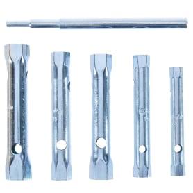 Набор торцевых ключей Sparta 8х17 мм, воротка, 6 шт.
