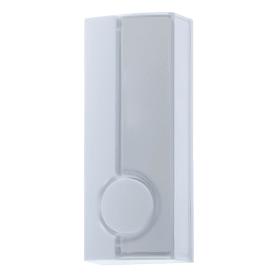 Кнопка для проводного звонка Zamel с/п, 220 В, цвет белый