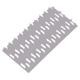 Пластина гвоздевая 132х60х1 мм, сталь