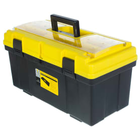 Ящик для инструмента Systec 290х300х590 мм, пластик, цвет чёрно-жёлтый
