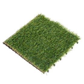 Плитка садовая «Искусственная трава», 40х40х2 см
